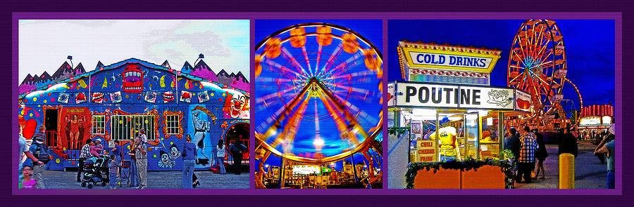 State Fair Triptych 2 Photograph