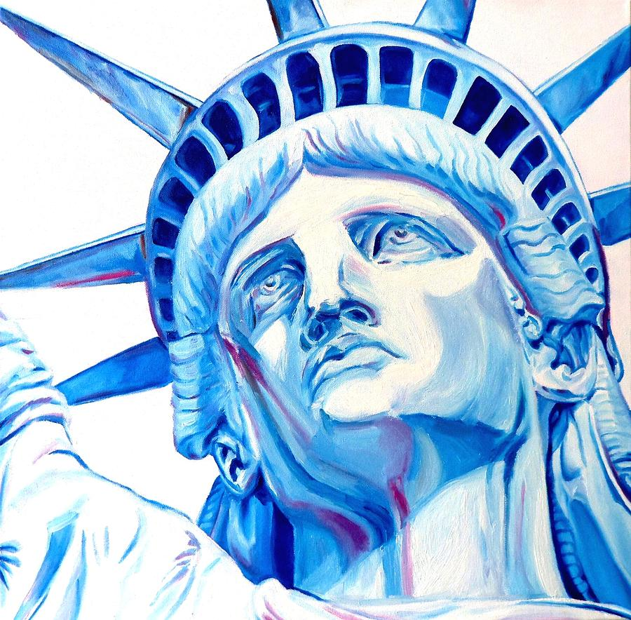 Statue Of Liberty by Andre Bongard: fineartamerica.com/featured/statue-of-liberty-andre-bongard.html