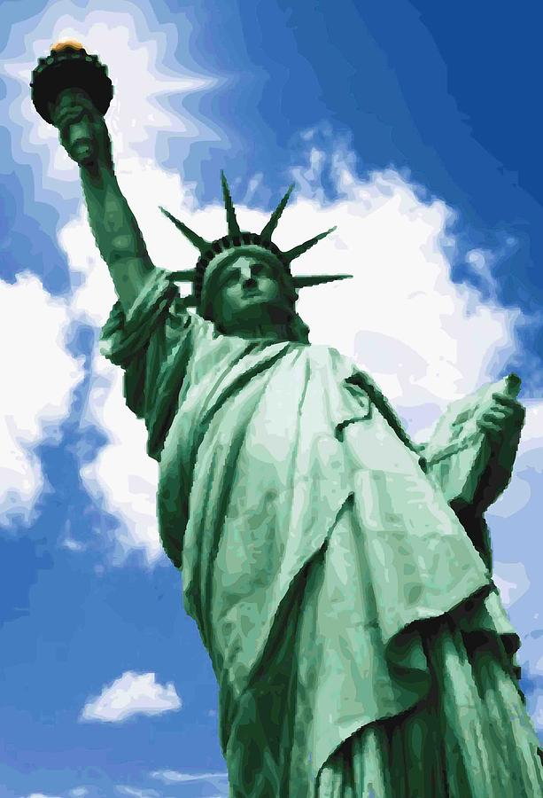 Statue Of Liberty Color 64 Photograph  - Statue Of Liberty Color 64 Fine Art Print