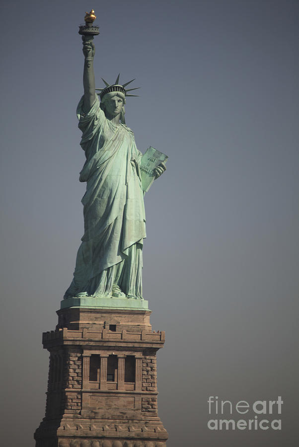 Statue Of Liberty, New York, Usa Photograph  - Statue Of Liberty, New York, Usa Fine Art Print
