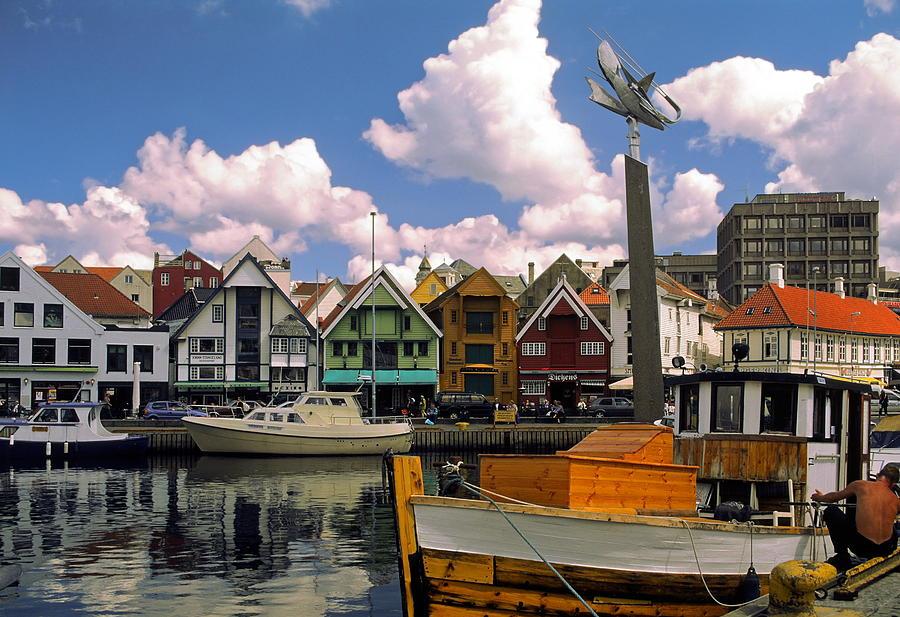 Stavanger Harbor Photograph