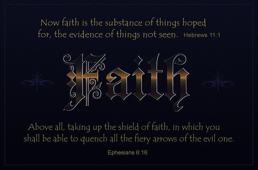 Steadfast Faith Digital Art
