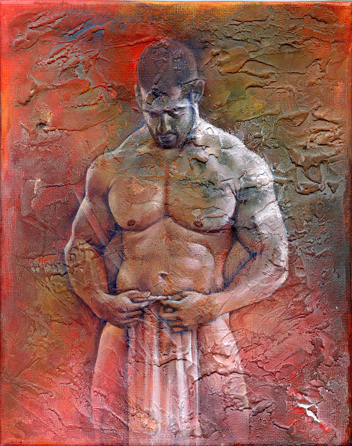 Posing Painting By Chris Lopez Fine Art Prints And