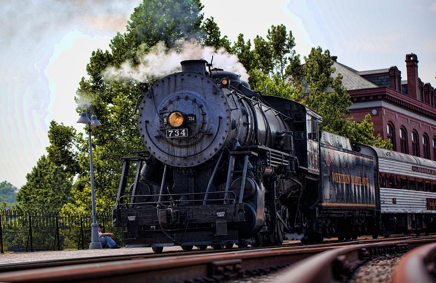 Steam Engine Of Cumberland Photograph
