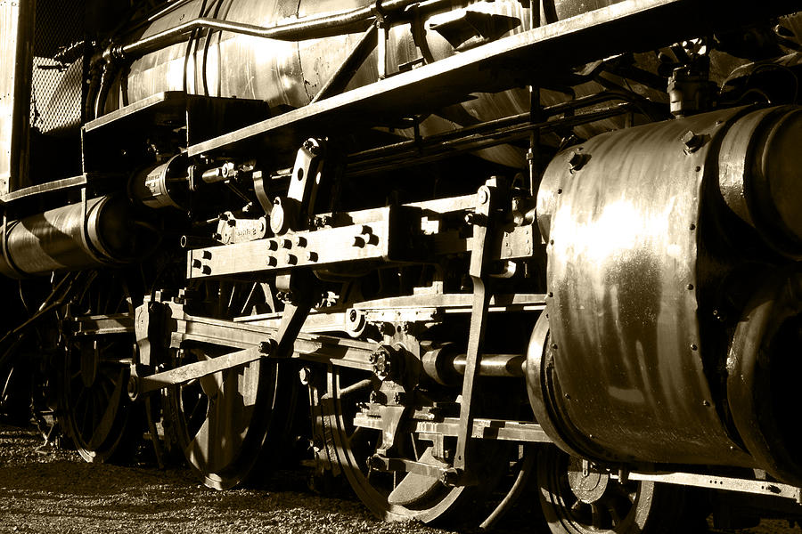 Steam Power II Photograph  - Steam Power II Fine Art Print