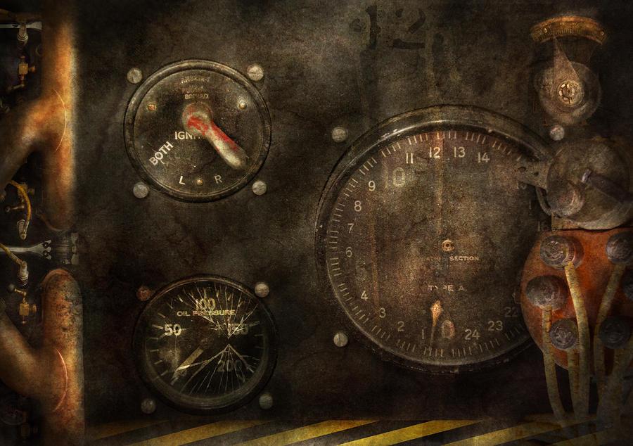 Steampunk - Check Your Pressure Photograph