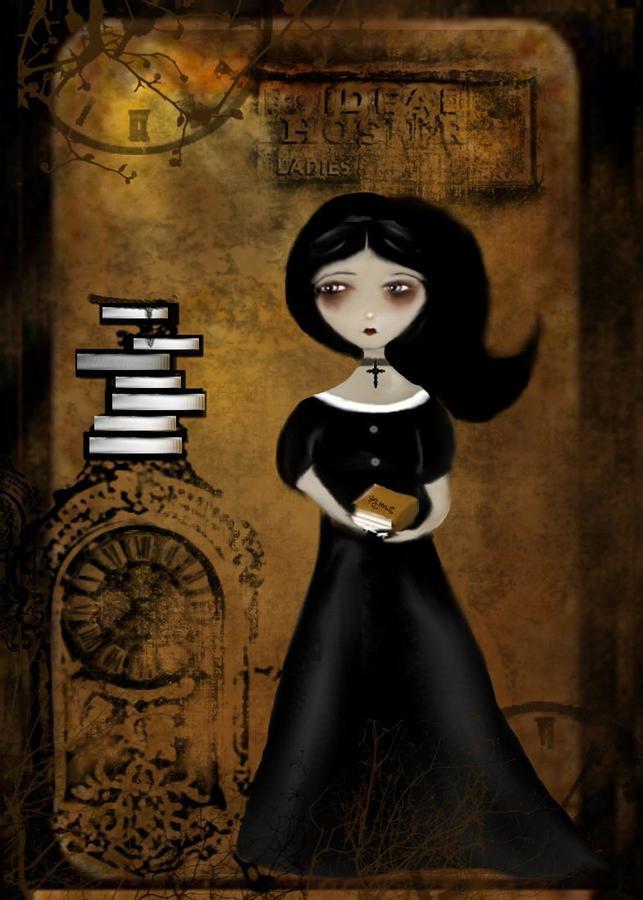 Steampunk Bibliophile Digital Art