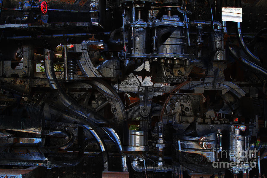 Steampunk Photograph - Steampunk Patent 1215 Prototype B by Wingsdomain Art and Photography