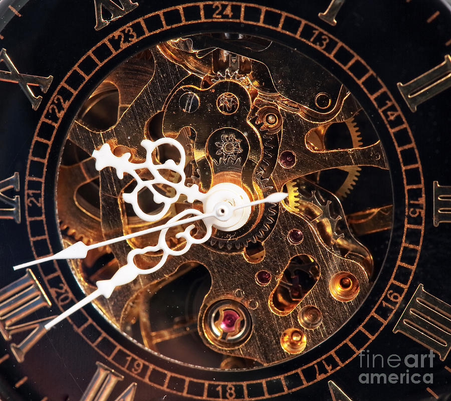 Steampunk Time Photograph  - Steampunk Time Fine Art Print