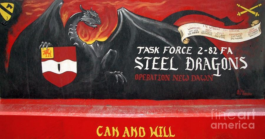 Steel Dragons - Can And Will Photograph  - Steel Dragons - Can And Will Fine Art Print
