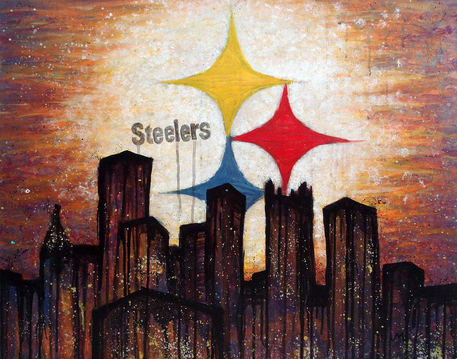 Steelers. Painting