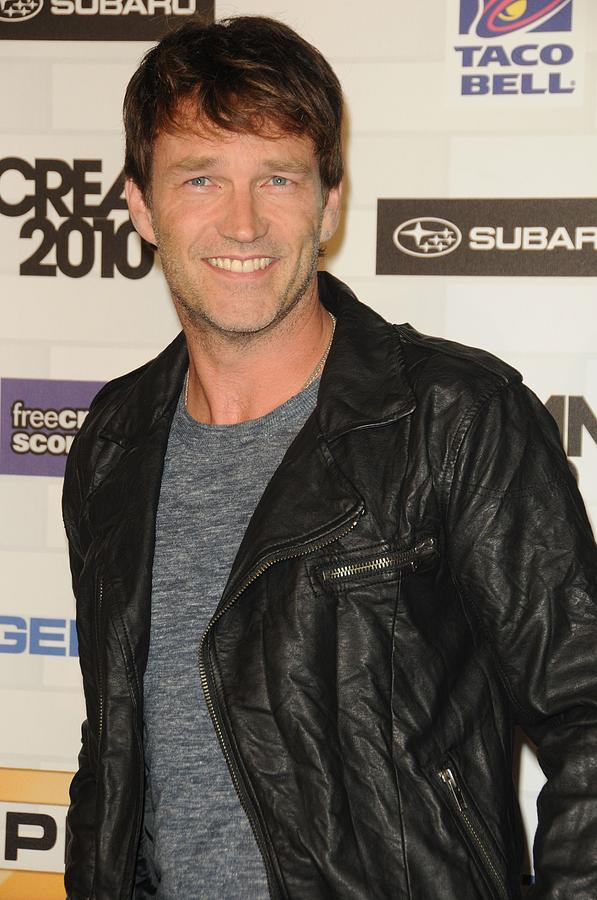 Stephen Moyer At Arrivals For Spike Photograph  - Stephen Moyer At Arrivals For Spike Fine Art Print