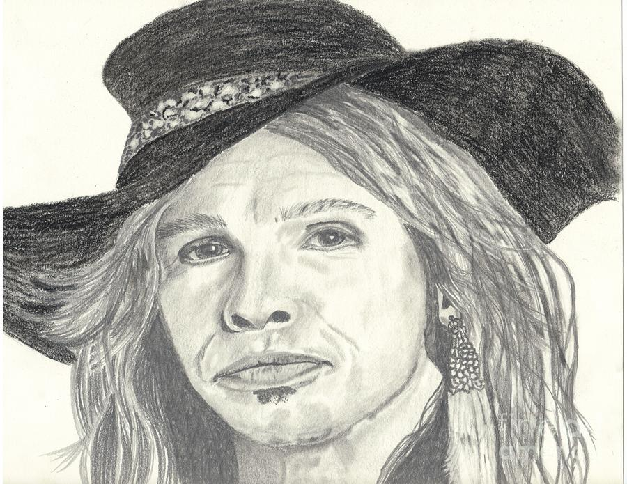 Stephen Tyler Drawing  - Stephen Tyler Fine Art Print
