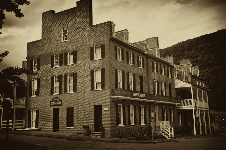 Stephensons Hotel - Harpers Ferry  West Virginia Photograph
