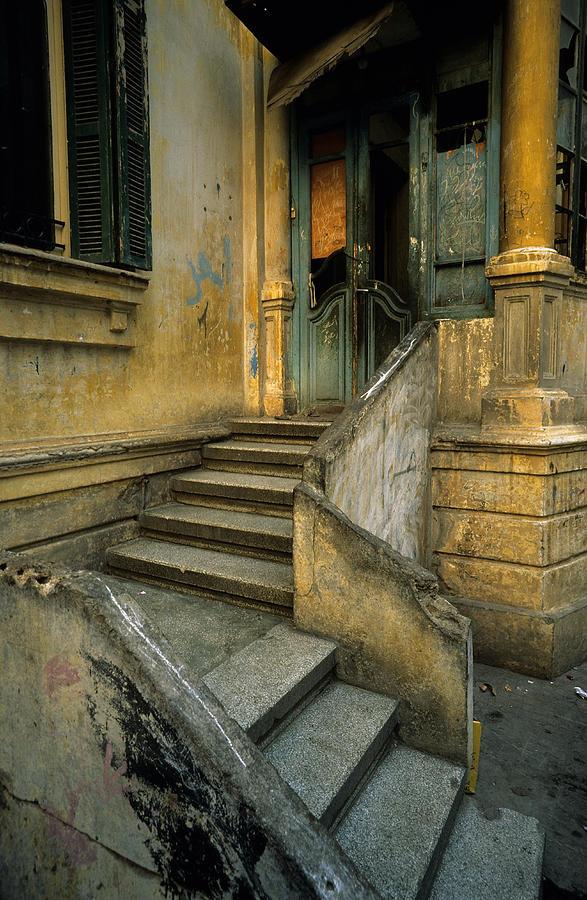 Steps. Photograph