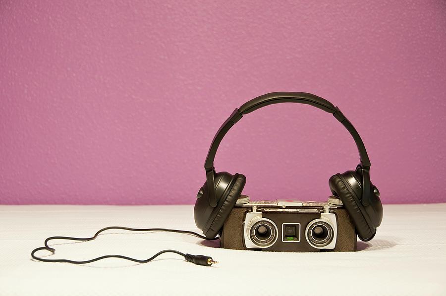 Horizontal Photograph - Stereophonic Camera by Pedro Díaz Molins