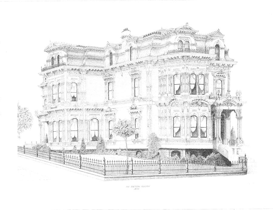 Stetson Mansion Drawing