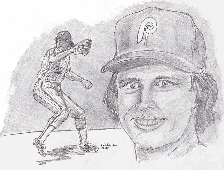 Steve Carlton- Lefty Drawing