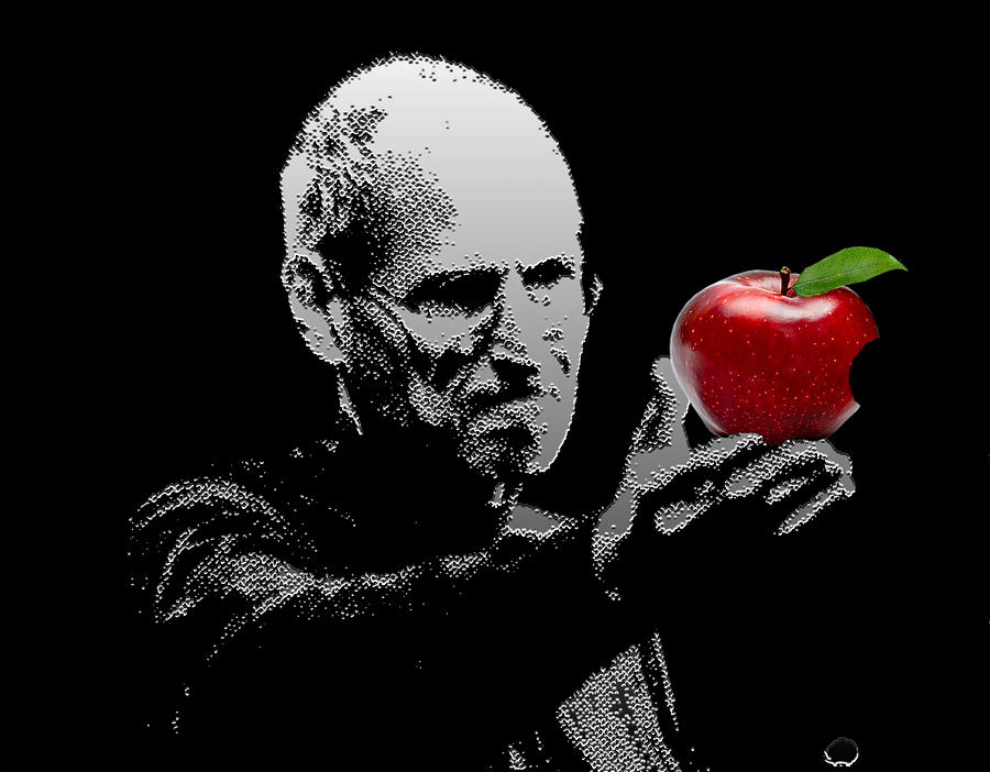 Steve Jobs The Visionary Digital Art