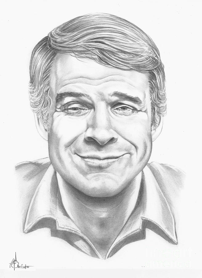 Steve Martin Drawing