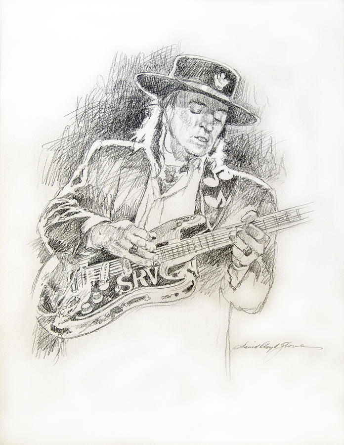 Stevie Ray Vaughan - Texas Twister Drawing