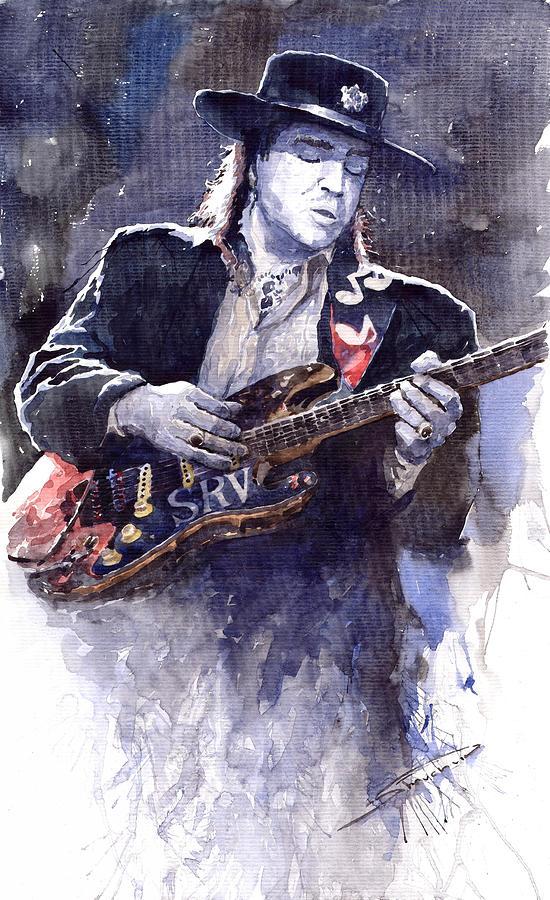 Stevie Ray Vaughan 1 Painting