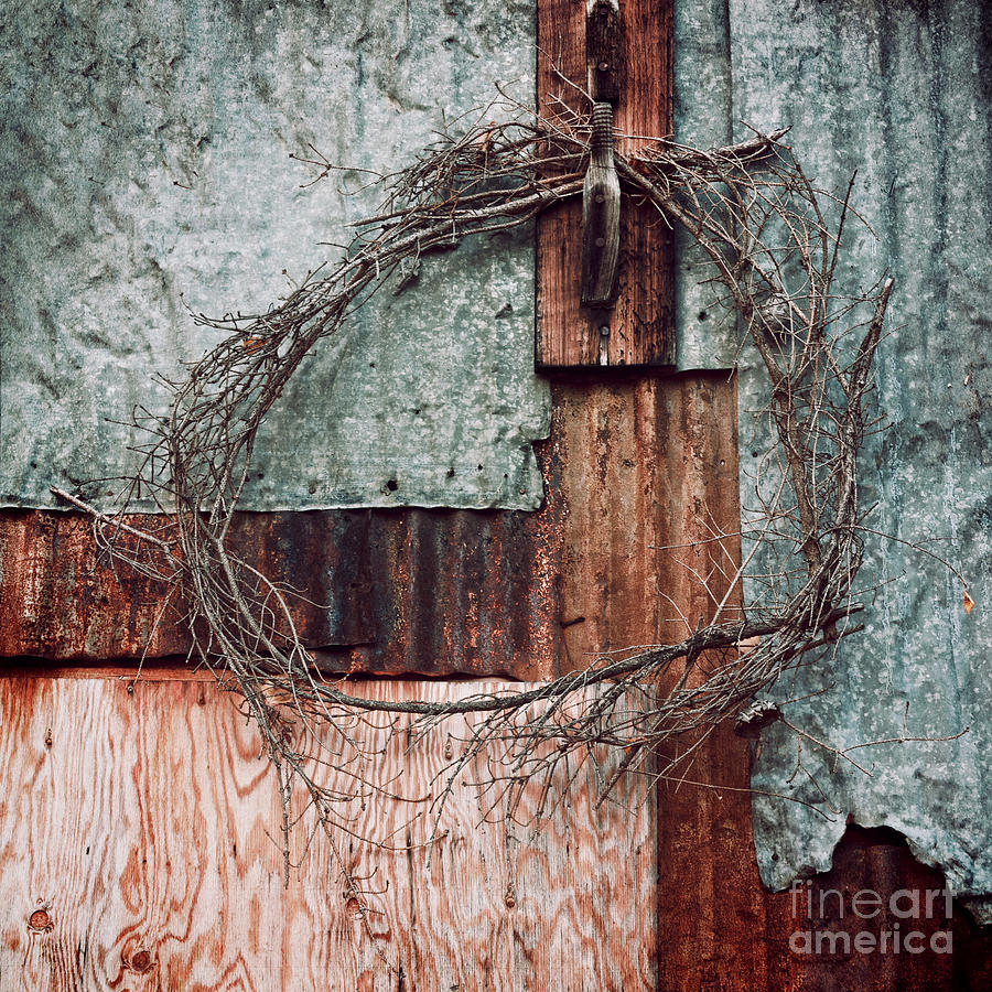 Still Decorated With A Wreath Photograph  - Still Decorated With A Wreath Fine Art Print