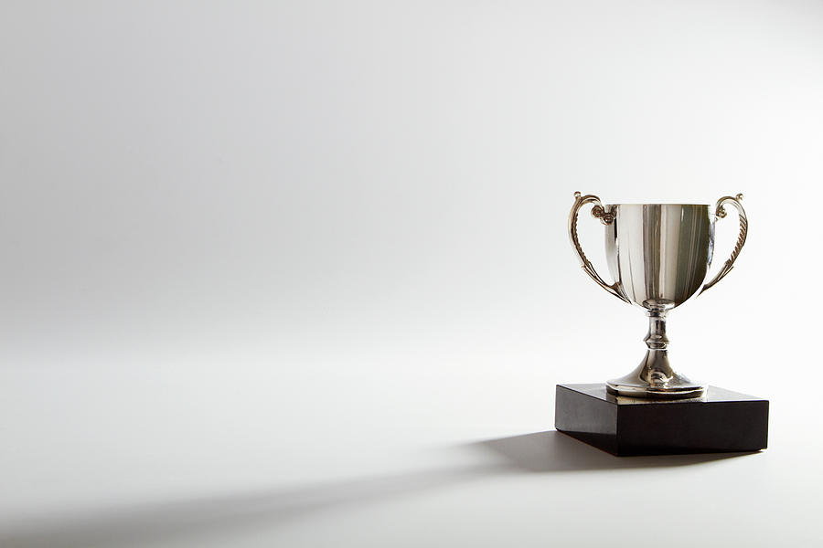 Horizontal Photograph - Still Life Of A Trophy by Quiet Noise Creative