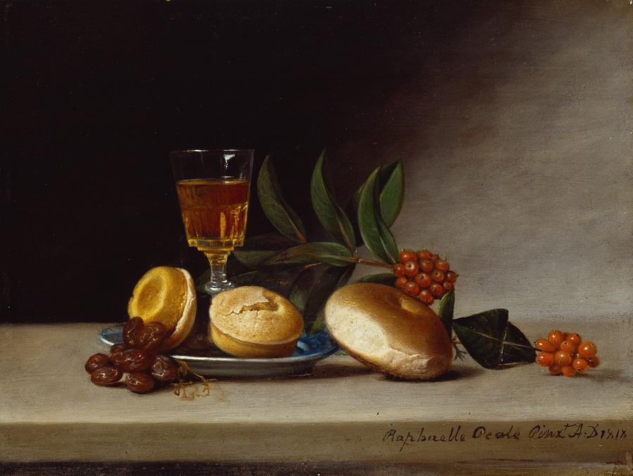 Still Life With A Wine Glass Painting