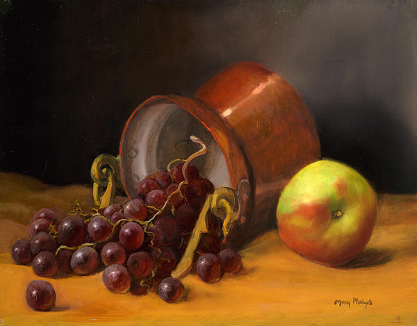 Still Life With Fruits Painting by Mary Phelps