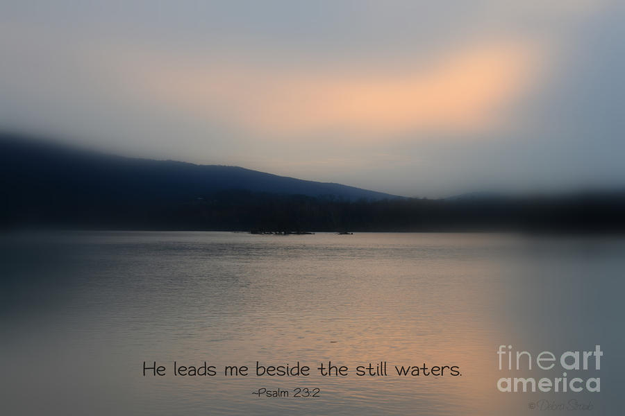 Still Waters Photograph  - Still Waters Fine Art Print