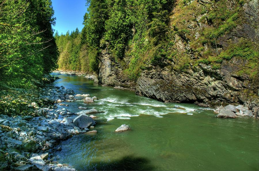 Stillaguamish river at granite falls photograph stillaguamish river