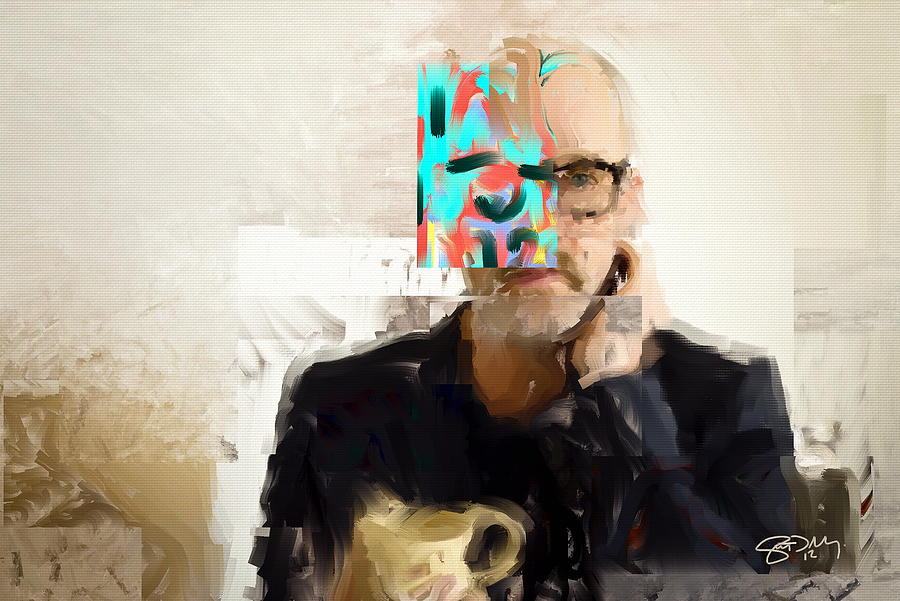 Michael Stipe Painting - Stipe by Scott Melby