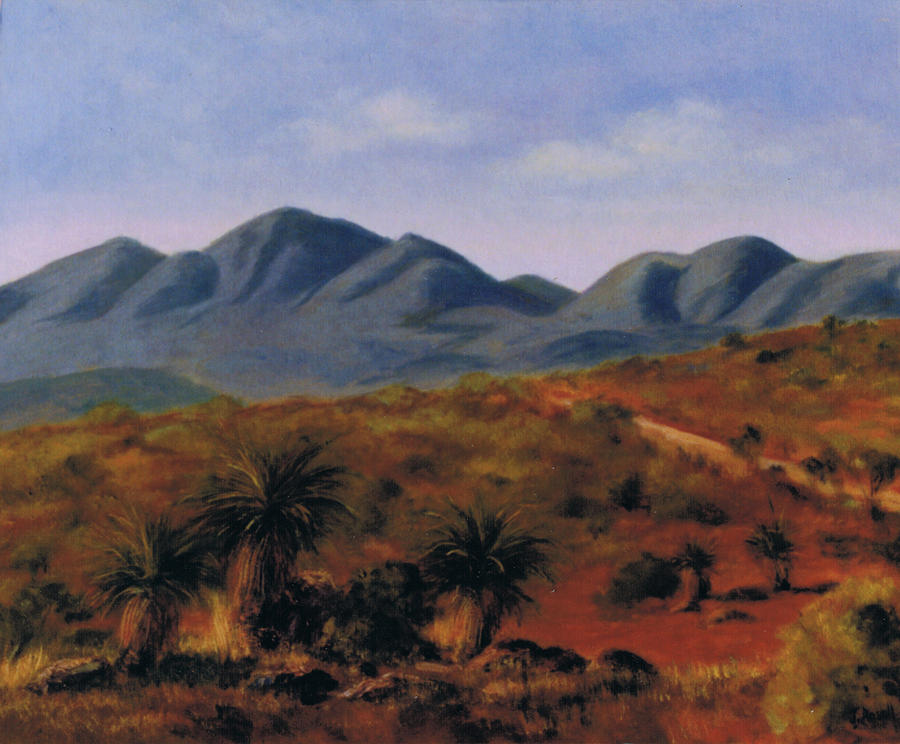 Stirling Ranges Painting  - Stirling Ranges Fine Art Print