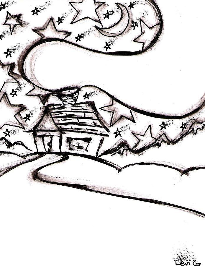 Stitchlips House Drawing