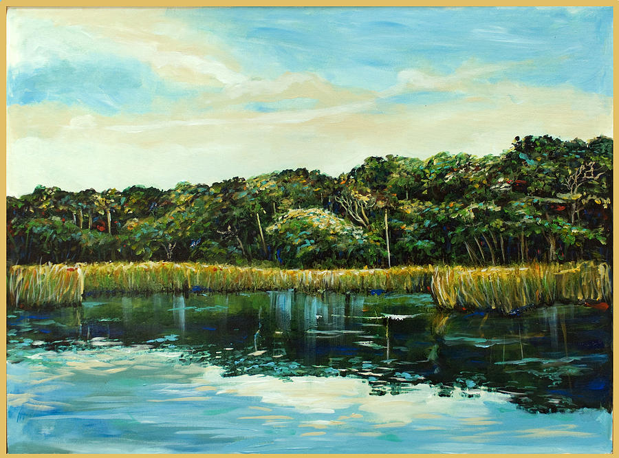 St.johns River Painting  - St.johns River Fine Art Print