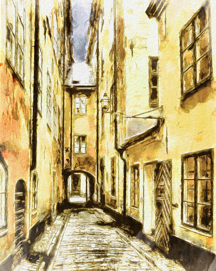Stockholm Old City Photograph