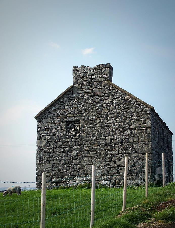 Ireland Stone Building : Stone building maam ireland by teresa mucha