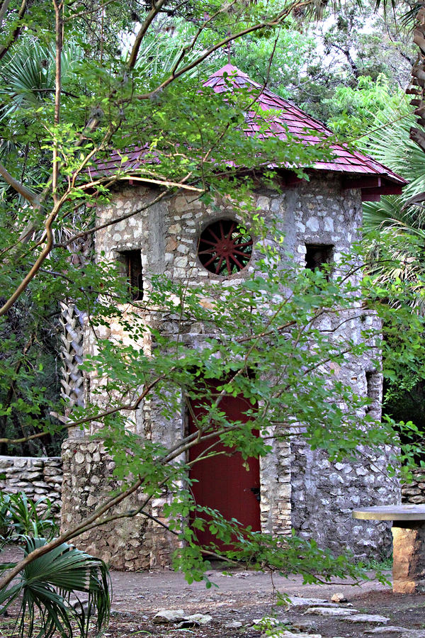 Stone Built Dove Blind Photograph  - Stone Built Dove Blind Fine Art Print