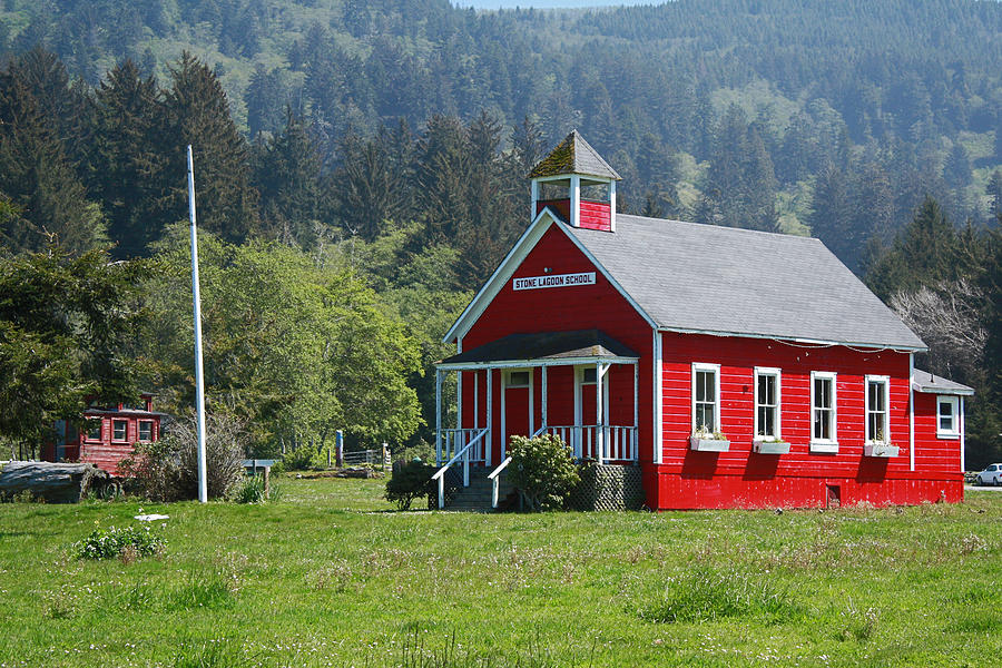 Stone Lagoon School House Photograph  - Stone Lagoon School House Fine Art Print