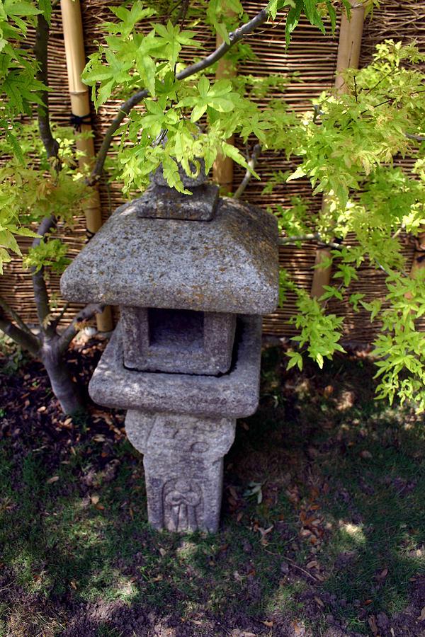 Stone Lantern Photograph