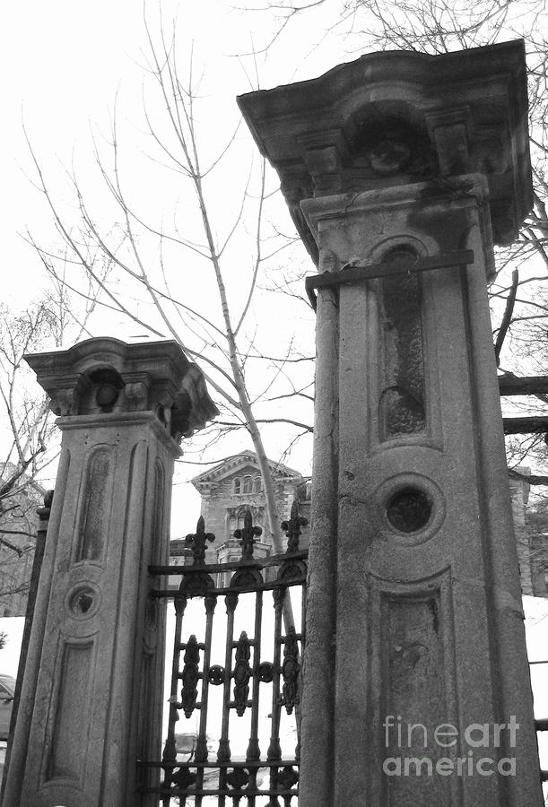 Stone Pillars Photograph
