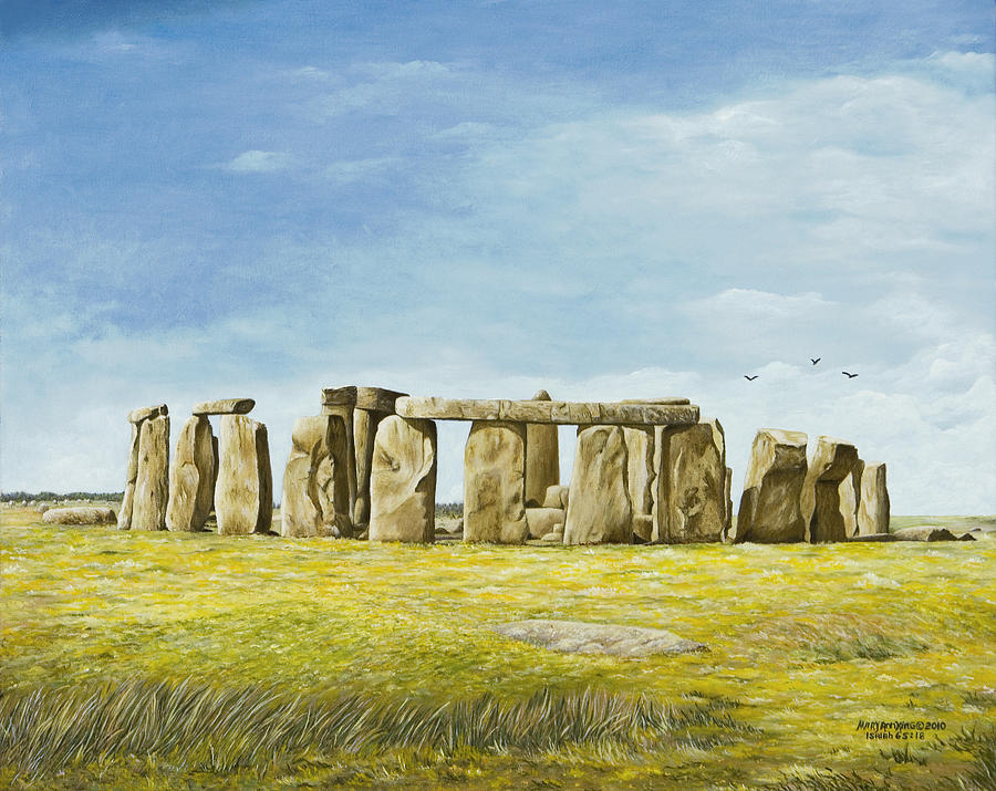 Movie Poster sample movie posters : Stonehenge by Mary Ann King