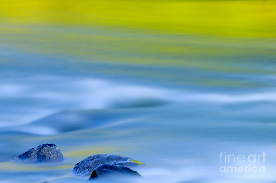 Stones In River Photograph  - Stones In River Fine Art Print