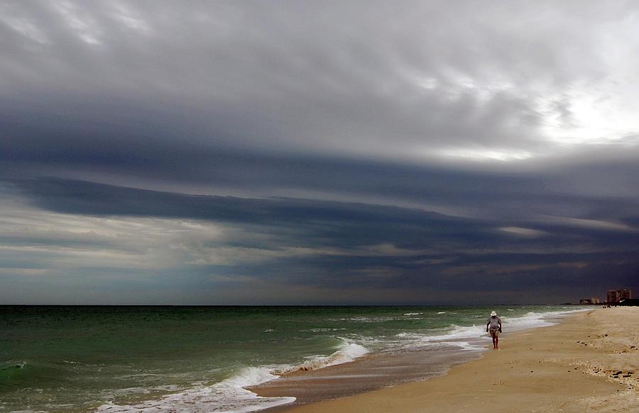 Storm Beach Photograph