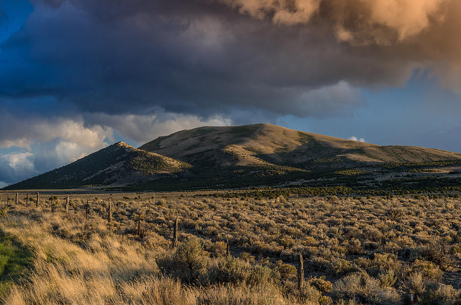 Storm Clearing Over Great Basin Photograph  - Storm Clearing Over Great Basin Fine Art Print