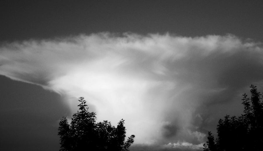 Storm Cloud Photograph  - Storm Cloud Fine Art Print