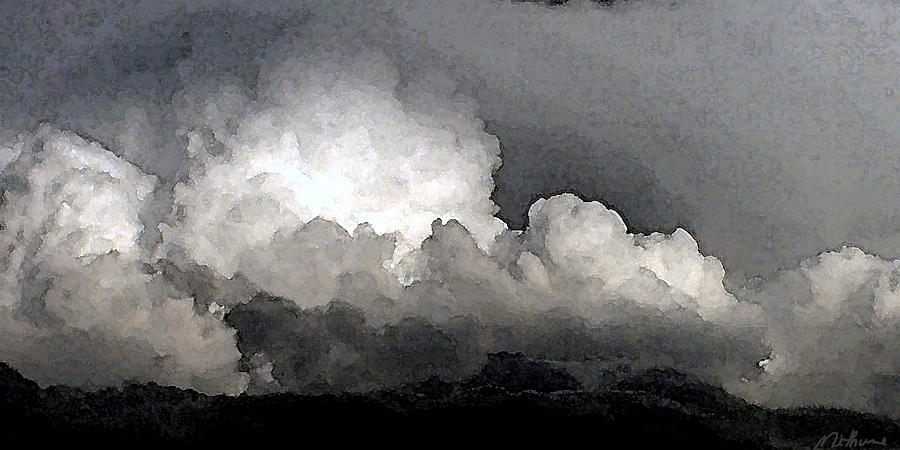 Storm Clouds Are Brewin Painting  - Storm Clouds Are Brewin Fine Art Print