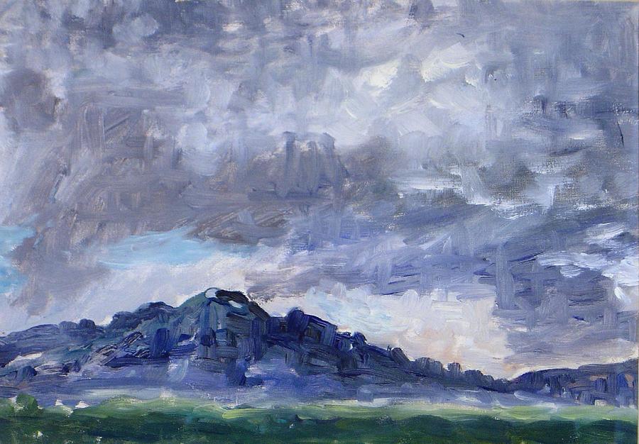 Storm Clouds by Ujjagar Singh Wassan