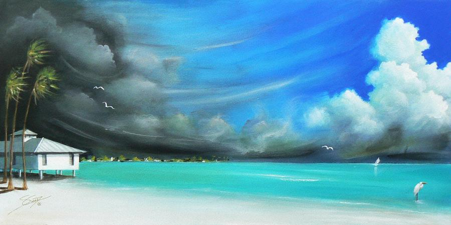 Storm on the Move Painting  - Storm on the Move Fine Art Print